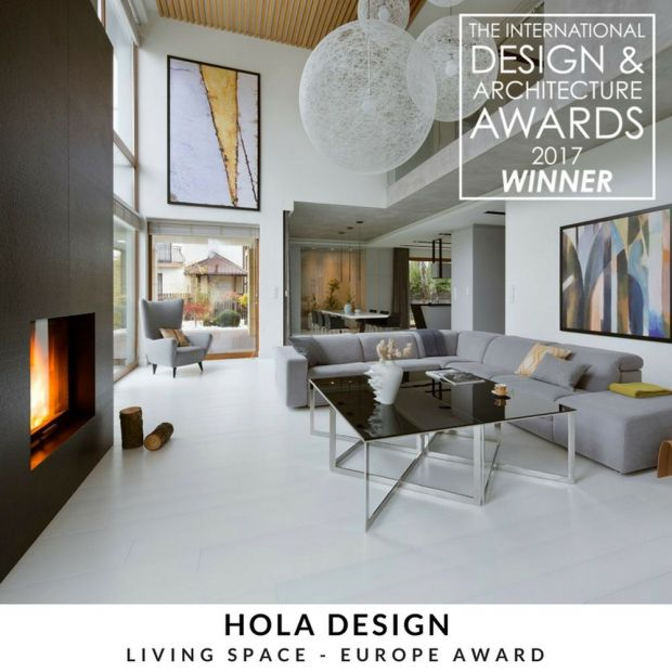 HOLA Design z nagrodą  The International Design & Architecture Awards 2017