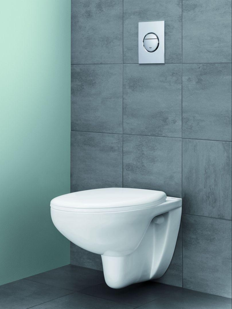 Nowoczesna łazienka - kolekcja ceramiki Bau Ceramic. Fot. Grohe