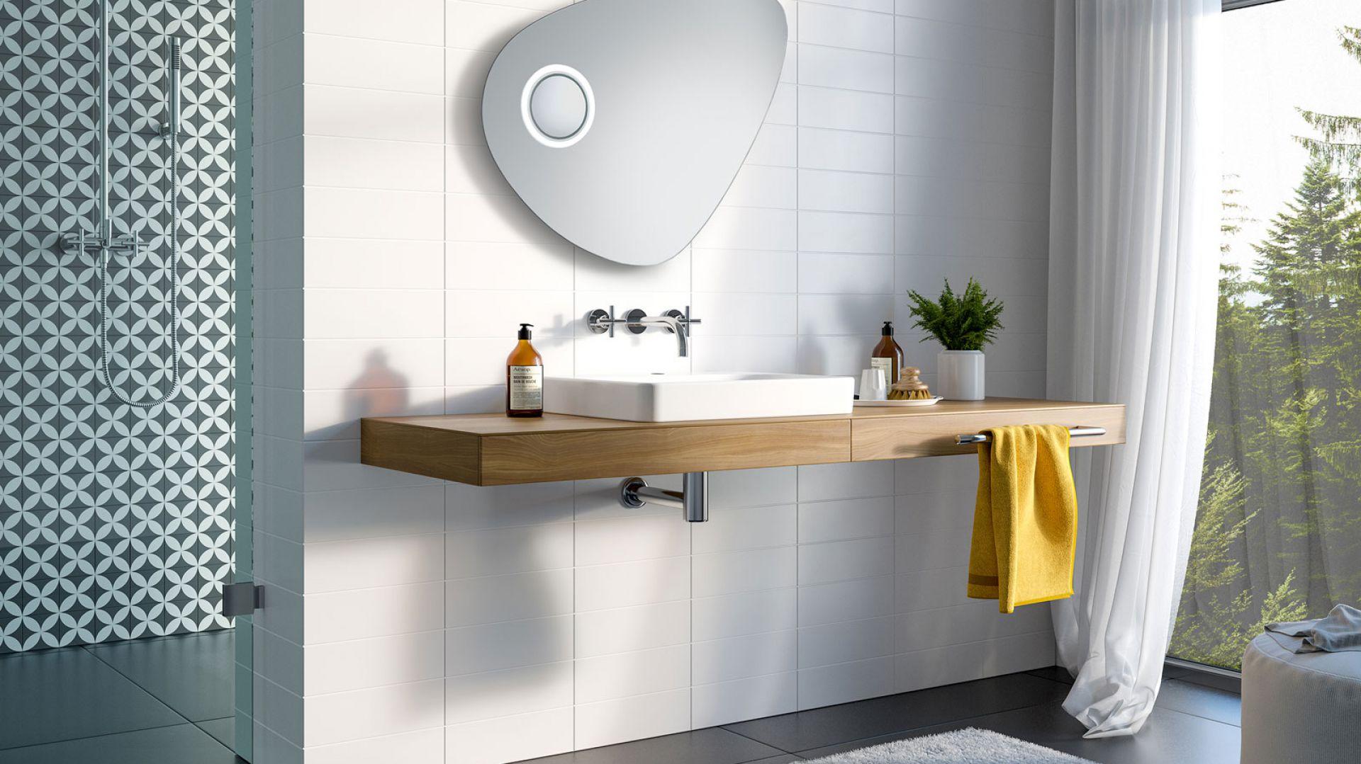 Lustro Lapis/Ruke. Produkt zgłoszony do konkursu Dobry Design 2018.