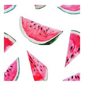 Dekoracja ścienna Watermelon to sposób na szybką metamorfozę wnętrza. Fot. Westwing,