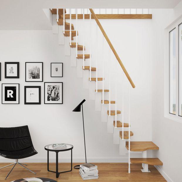 Wnętrza w stylu skandynawskim - wybieramy schody
