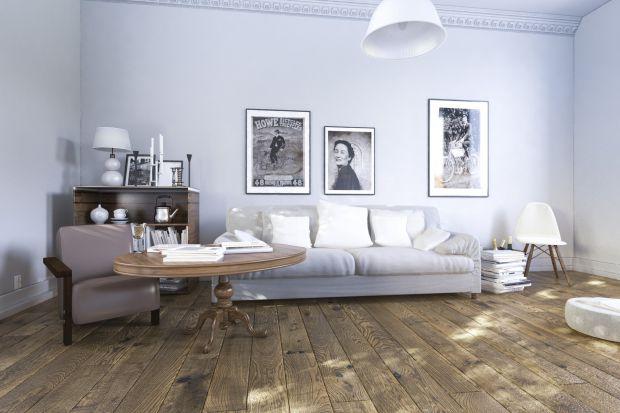 Piękna, drewniana podłoga - nowa kolekcja stylizowanych desek