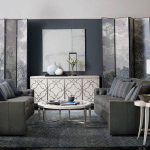 Salon w amerykańskim stylu według Open Space Interiors. Fot. Bernhardt
