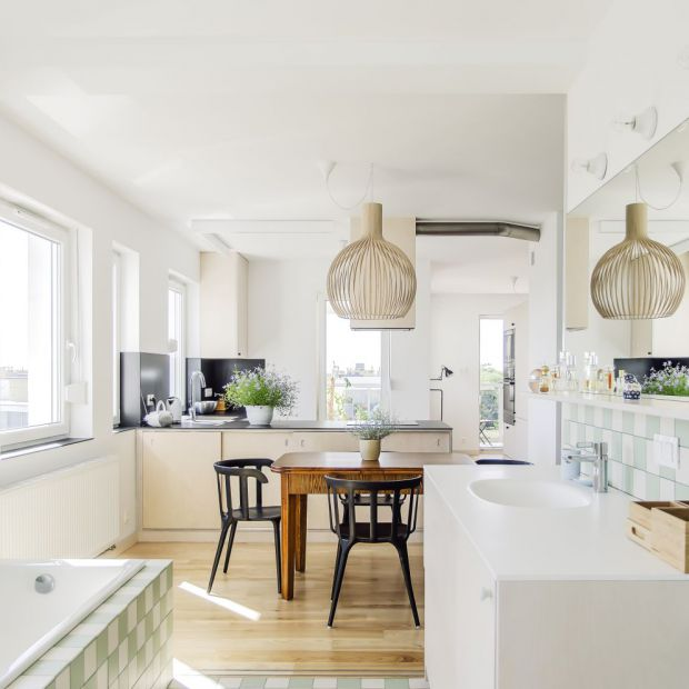 Jasne mieszkanie - zobacz piękny projekt z Poznania