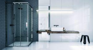 Ze względu na proste, atrakcyjne wzornictwo, bezdrzwiowe kabiny prysznicowe zyskują ostatnimi czasy wielu zwolenników.