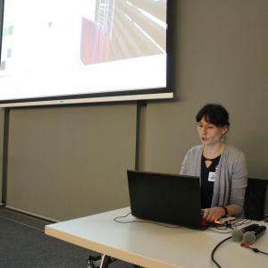 Prezentacja marki Cad Projekt K&A prowadzona przez Annę Spalony.
