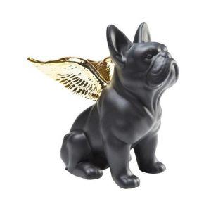 Figurka uroczego i dumnego buldoga francuskiego Sitting Angel Dog. 109 zł.  Fot. Kare Design