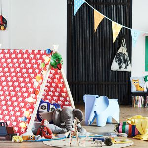 Namiot to wspaniałe miejsce do zabawy dla dzieci. Fot. Bosch