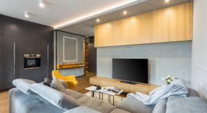 Aranżacja wnętrza mieszkania została zainspirowana stylem loft. Zobaczcie jego piękny projekt.