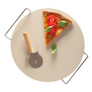 Kamień Pizza Stone jest świetnym rozwiązaniem do przyrządzania pizzy, chleba i innych wypieków. Fot. Duka
