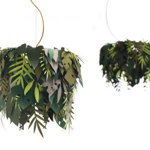 Zaprezentowana na tegorocznych targach iSaloni w Mediolanie lampa Amazzonio, projekt Marcantonio. Fot. Mogg