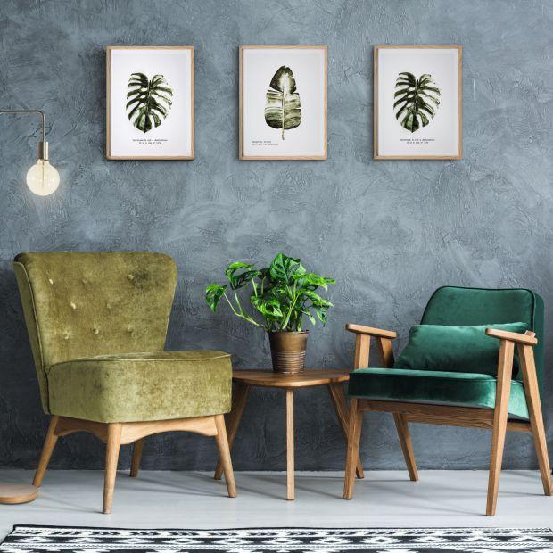 Trend dżungla - 5 pomysłów na modny salon