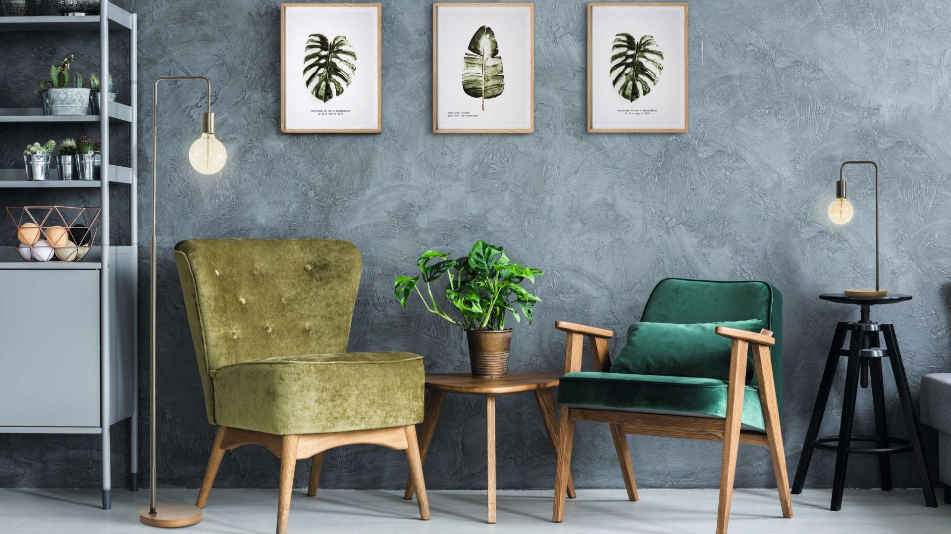 Dekoracyjne obrazki z serii Leaf z botanicznym motywem. Fot. Eurofirany