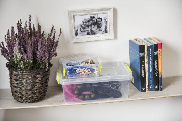 Przechowywanie w domu - wygodne  pojemniki