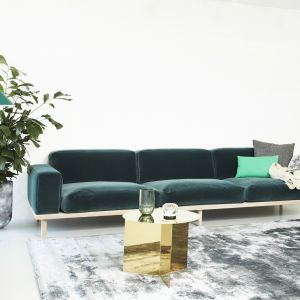 Sofa Divine dla marki Mogens Hansen Furniture.  Fot ARDE design studio