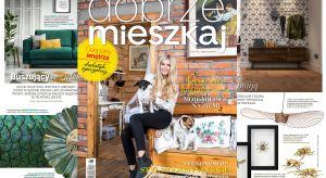 Gwiazdą najnowszego wydania magazynu Dobrze Mieszkaj jest Rozalia Mancewicz.
