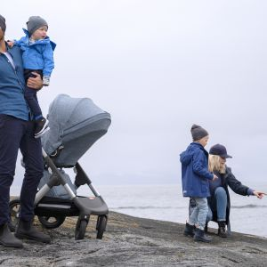 Wózek Stokke® Trailz™ Nordic Blue Exclusive Edition. Fot. Stokke® Trailz™