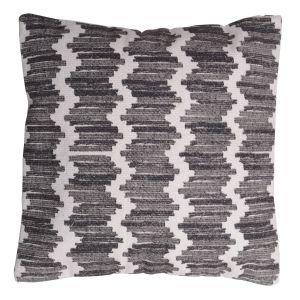 Poduszka dekoracyjna Żakard z bawełny o wielobarwnym i wielkoformatowym wzorze. Fot. Urban Nature Culture
