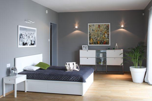 Sypialnia w nowoczesnym stylu - piękne wnętrza z polskich domów