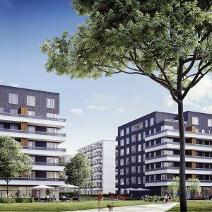 URSA Smart City to warszawskie osiedle zrywające z koncepcją zamkniętych enklaw mieszkańców. Zamiast ogrodzeń – mamy tutaj roślinność. Fot. materiały prasowe dewelopera
