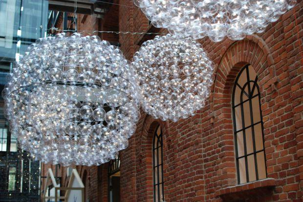 Designerskie oświetlenie - lampy bąbelkowe