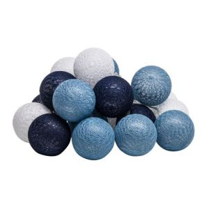 Świecące kule Cotton niebieskie. Fot. Agata S.A.