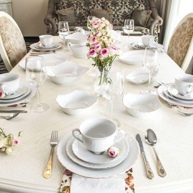 Piękna porcelana - pomysły na elegancki stół
