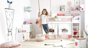 Dziecięcy pokój to przestrzeń niezwykła - musi się w niej znaleźć miejsce do wypoczynku, nauki, ale i zabawy. Warto, aby meble pomagały dzieciom w rozwijaniu ich kreatywności.