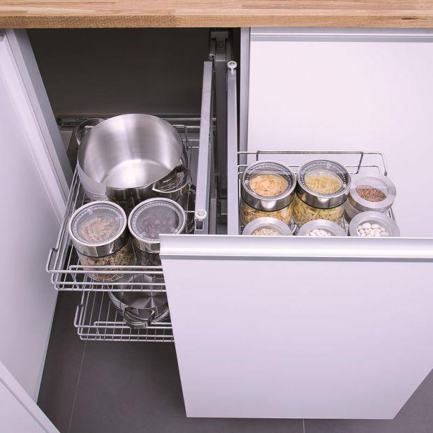 Przechowywanie w kuchni - akcesoria pomogą utrzymać porządek