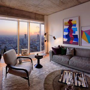 Luksusowy apartament na Złotej 44 w Warszawie. Wnętrza zaprojektowała renomowana brytyjska pracownia Woods Bagot.  Fot. materiały prasowe Złota 44