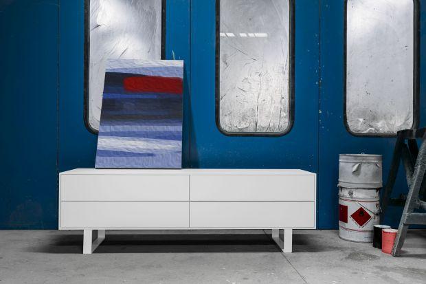 Meble do salonu - komoda o minimalistycznym designie