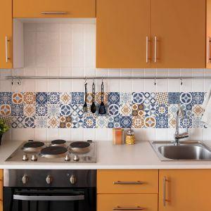Aranżacja kuchni: ściana nad blatem. Fot. Dualgres
