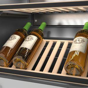 Nowe chłodziarki na wino do zabudowy. Fot. Miele