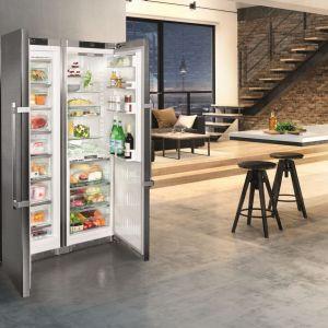 Chłodziarko-zamrażarka SBSbs 8673 side by side Premium gwarantuje świeżość produktów. Fot. Liebherr