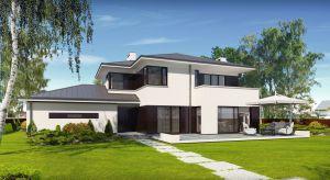 Przemek to projekt domu jednorodzinnego o bardzo ładnej i nowoczesnej architekturze zewnętrznej.Przestronne wnętrze zapewni komfort i swobodę użytkownikom.