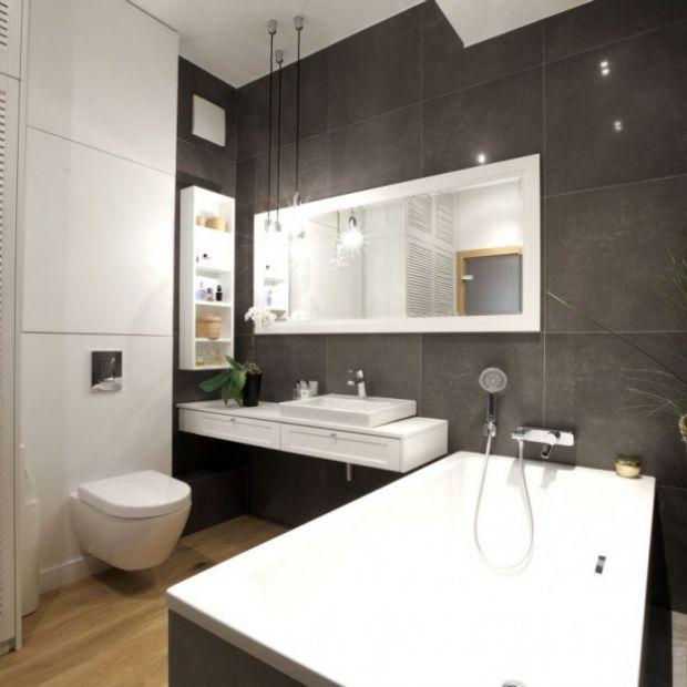 Szara łazienka – zobacz jak ją urządzić