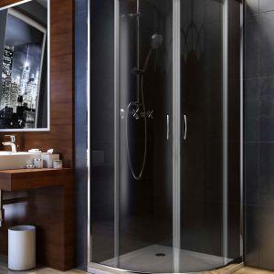 Aranżacja małej łazienki. Fot.Aquaform