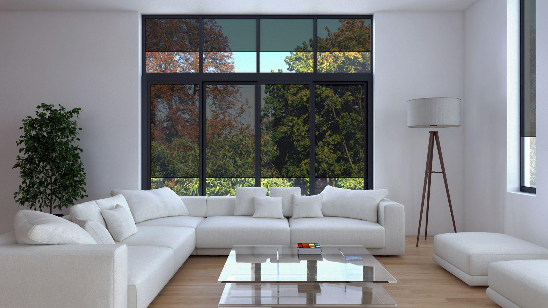 Inteligentne przesłony okienne. Fot. Schüco
