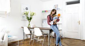 Dwoje dzieci, pies i śnieżnobiała sofa? W mieszkaniu Luci Pontarin wszystko jest możliwe! W ulubionym stylu skandynawskim urządziła całe mieszkanie, nawet pokój dziecięcy.