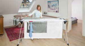Masz dużą rodzinę i robisz pranie codziennie? Często pierzesz pościel i ręczniki? Postaw na wygodną w obsłudze, rozsuwaną suszarkę.