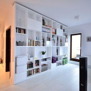 Nowoczesny apartament. Projekt: Anna Łozińska-Herda
