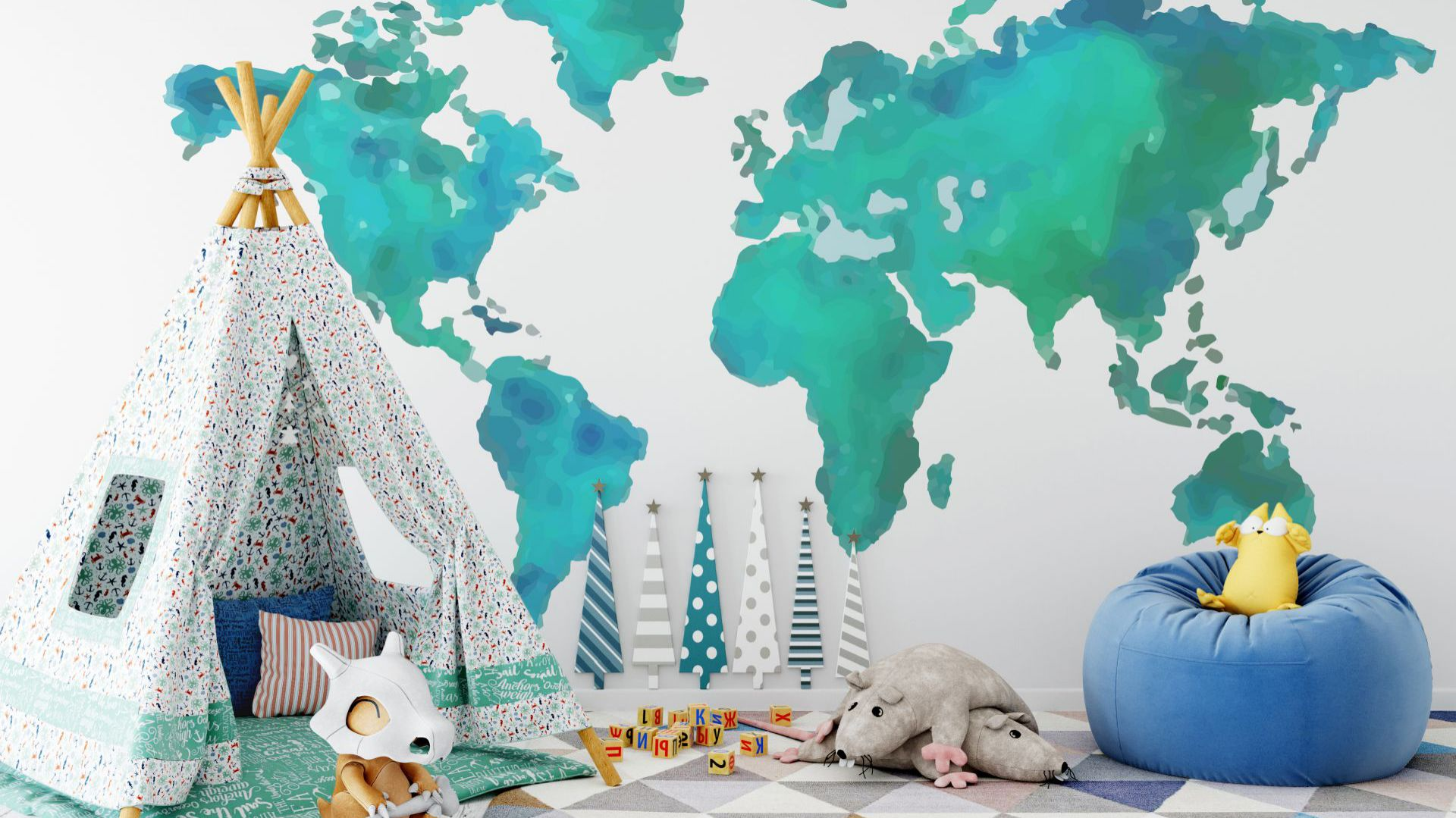 Fototapeta lateksowa Earth. Fot. Fototapeta4u.pl