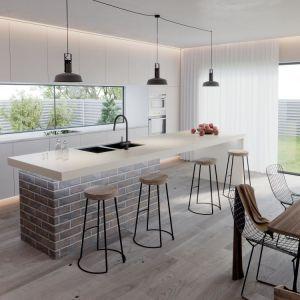 Kuchnia otwarta na salon. Fot. Röben