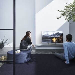 Telewizor z serii XE70 zapewnia wyjątkową jakość 4K oraz jasność, kolorystykę i szczegółowość obrazu HDR (High Dynamic Range). Fot. Sony