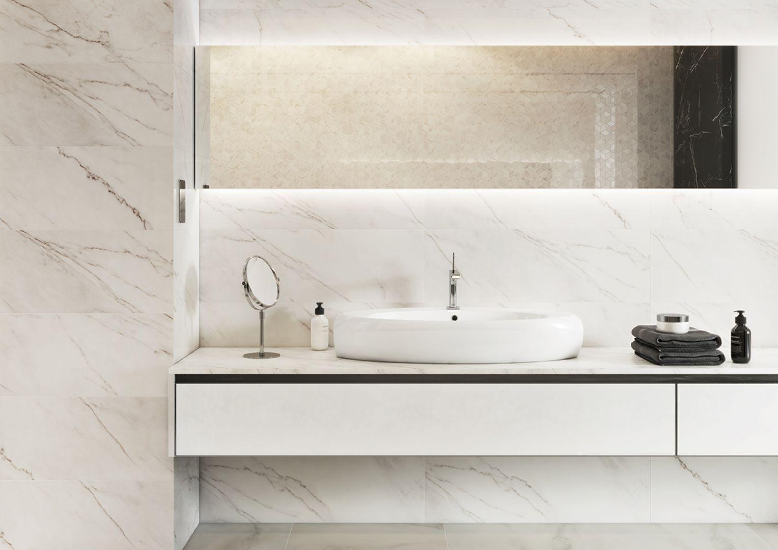 Elegancka łazienka Postaw Na Marmur Galeria