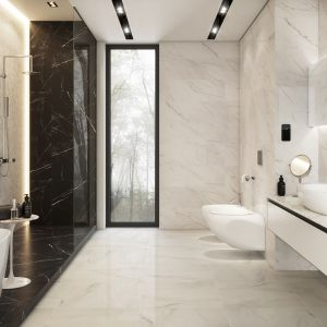 Elegancka łazienka Postaw Na Marmur