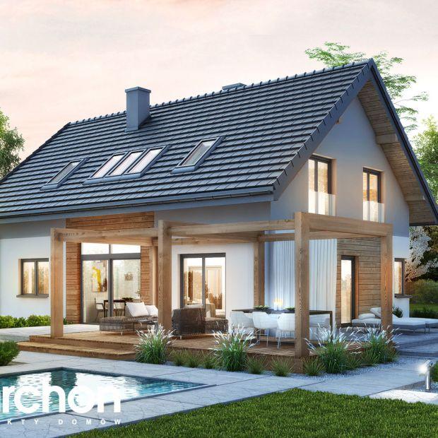 Komfortowy dom z antresolą. Zobacz pomysłową aranżację wnętrza
