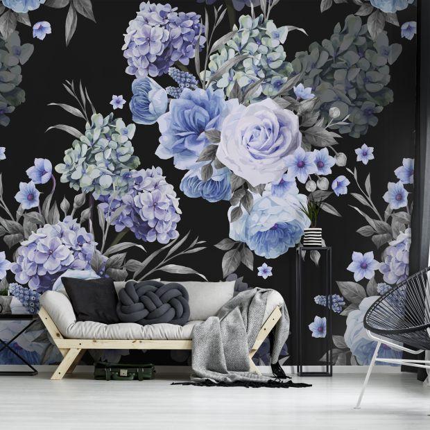 Tapety w kwiaty - to jest modne!