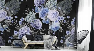 Kwiaty to jeden z najpopularniejszych motywów w dekoracji ścian. Zobacz, jak efektownie kwiaty prezentują się w wersji maxi.