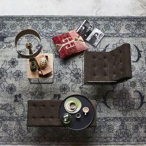 Modne tkaniny: zamsz, aksamit, sztruks. Fot. Dutchhouse